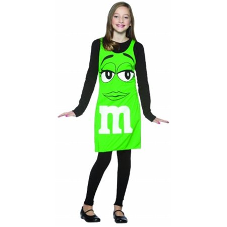 M&s Halloween Costumes 2019 (M&M Green Tank Dress Child Halloween)