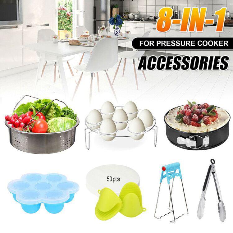 TAECOOOL 2 Pack Silicone Bakewarepressure Cooker Sling Pressure Cooker Sling for Instant Pot 6//8 Qt Pressure Cooker Green