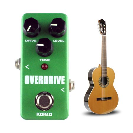 ALLCACA Overdrive Guitar Pedal Aluminum Alloy Guitar Effect Pedal Electric Guitar True Bypass,