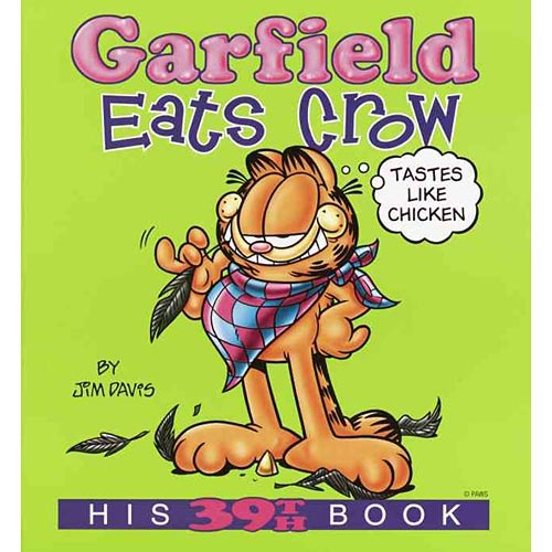 Garfield Eats Crow