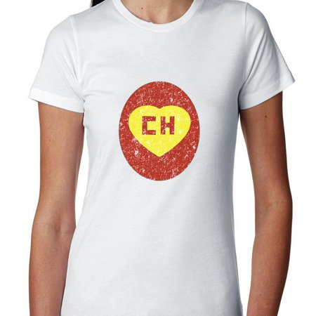 Iconic El Chapulin Colorado Ch Red Yellow Womens Cotton T Shirt