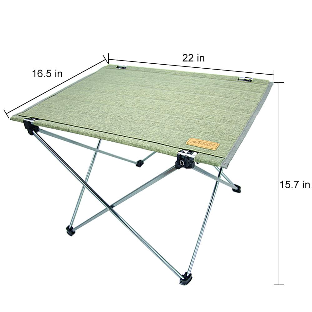 Auchen Collapsible Portable Camp Tables
