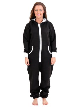 1370fb5bee Product Image SkylineWears Women s Onesie Playsuit Ladies Jumpsuit Black  Small