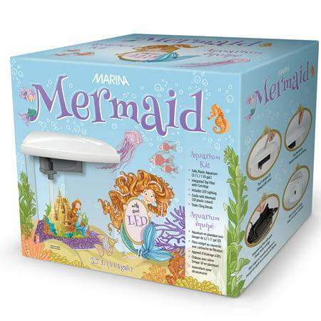 Marina Betta Kit Gravel (Marina Mermaid Aquarium Kit, 1-Gallon )