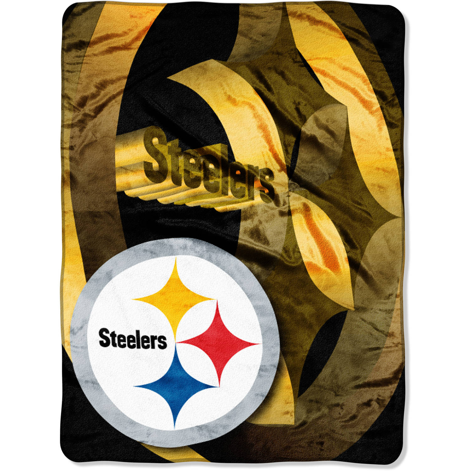 "NFL Pittsburgh Steelers 60"" x 80"" Oversized Micro Raschel Throw"