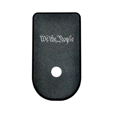 Magazine Base Plate Glock 43   We The People Script