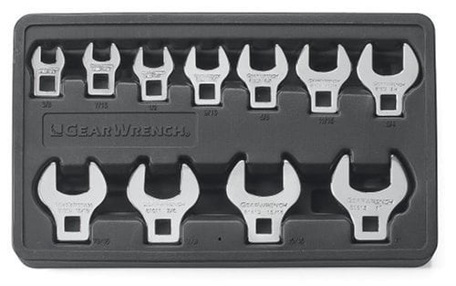 GearWrench 81623 3//8-Inch Drive Crowfoot Wrench 19mm