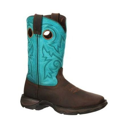 Women's Durango Boot DWRD022 Lady Rebel Western Steel Toe Boot