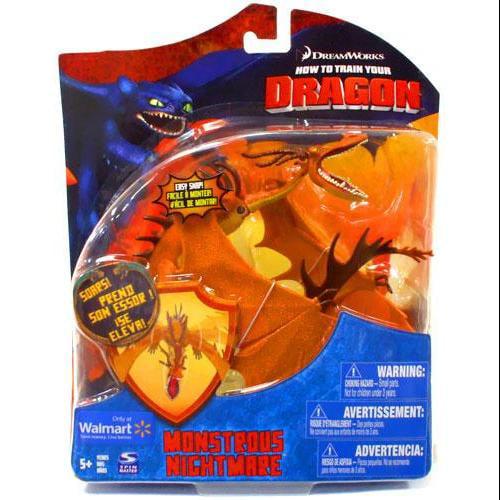 Monstrous Nightmare Action Figure Orange Series 2 Deluxe