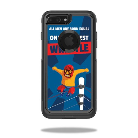 Skin For OtterBox Commuter iPhone 7 Plus Case – Best Wrestle | MightySkins Protective, Durable, and Unique Vinyl Decal wrap cover | Easy To Apply, Remove, and Change Styles | Made in the