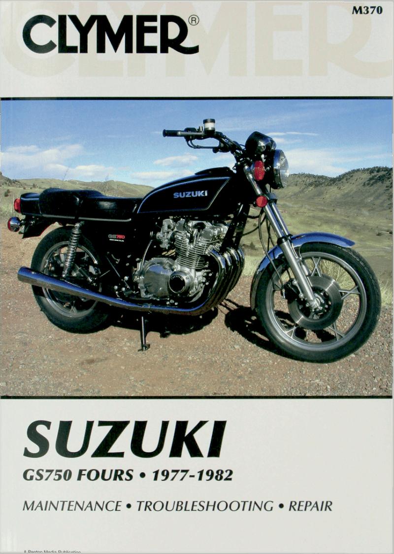 Clymer Manuals M370 M370; Suzuki Gs750 Motorcycle Repair Service Manual -  Walmart.com