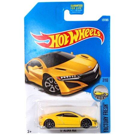 Hot Wheels Factory Fresh '17 Acura NSX Die-Cast Car (Factory Cap)