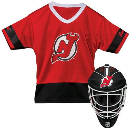 Franklin Sports NHL New Jersey Devils Youth Team Uniform Set