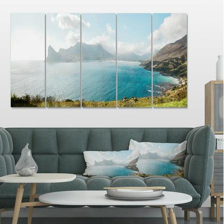 Hout Bay from Chapman Peak - Seashore Photo Canvas Art Print - image 4 of 4
