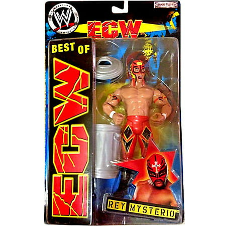 WWE Wrestling Best of ECW Rey Mysterio Action Figure [Red Mask & Pants] for $<!---->
