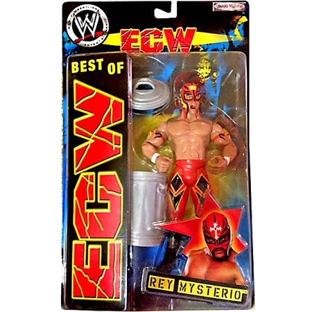 WWE Wrestling Best of ECW Rey Mysterio Action Figure [Red Mask & Pants] (Buy Rey Mysterio Mask)
