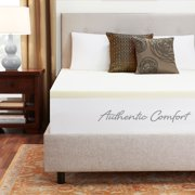 Authentic Comfort 1.5-Inch Breathable Memory Foam Mattress Topper