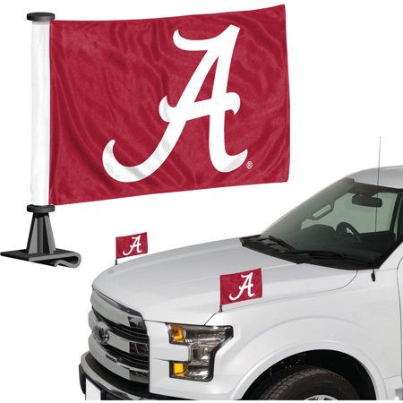 - Alabama Crimson Tide Auto Ambassador Flag Set - No Size