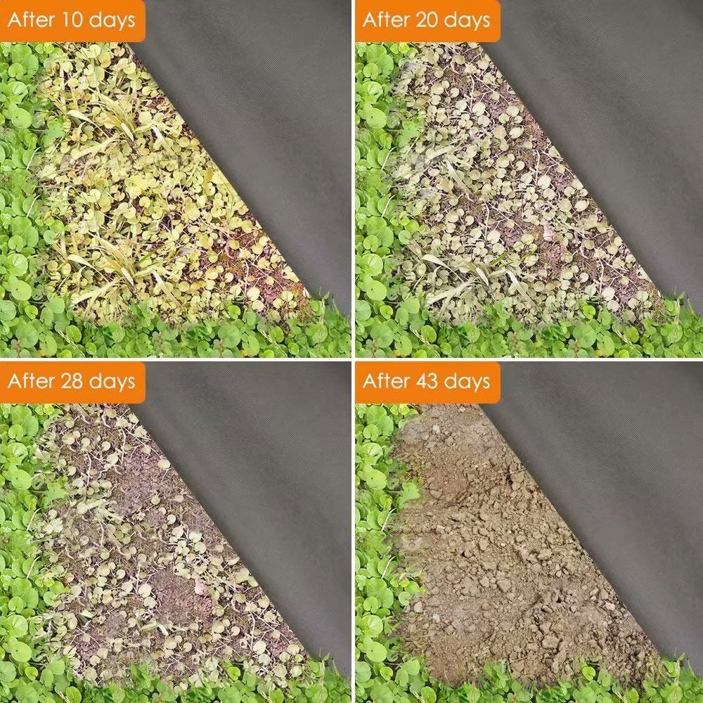 Agfabric/Landscape/Fabric/Weed/Barrier/Ground/Cover/Garden/Mats/for/Weeds/Block/in/Raised/Garden/Bed,/5/Ft/X/200/Ft