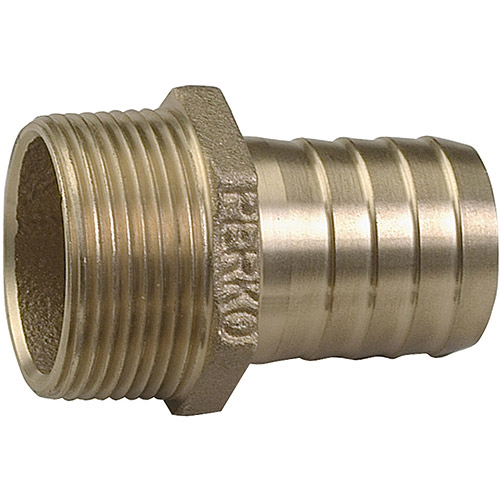 Perko Cast Bronze Pipe to Hose Adapter