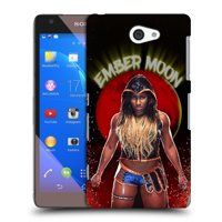 OFFICIAL WWE EMBER MOON HARD BACK CASE FOR SONY PHONES 4