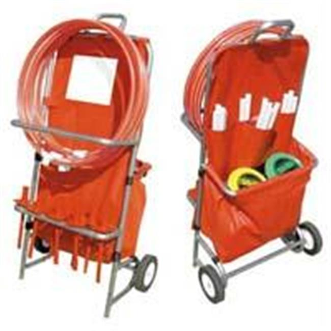 Olympia Sports EC067M Disc Golf Equipment Cart by