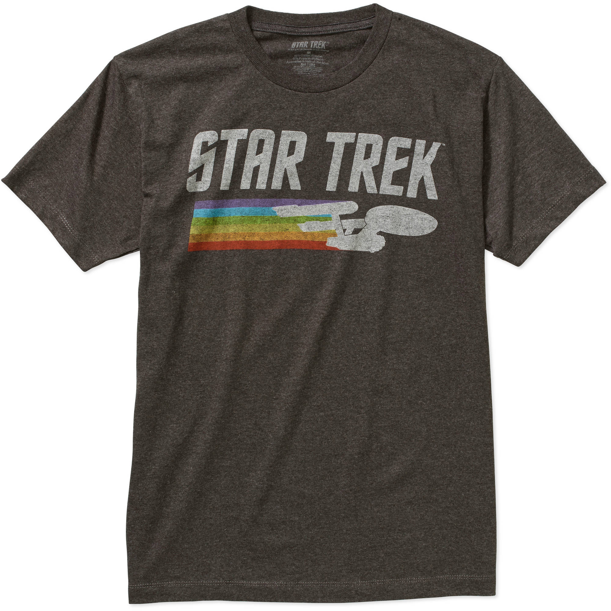 Star Trek Men's Graphic Short Sleeve T-Shirt