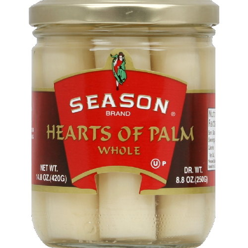 Season Whole Hearts Of Palm, 14.8 oz (Pack of 12)