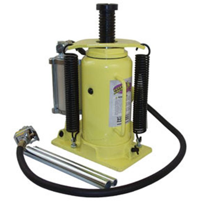 MDC ESC-10450 20 Ton Air ; Hydraulic Bottle Jack - Yellow
