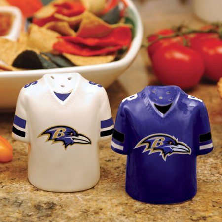 Baltimore Ravens Gameday Ceramic Salt & Pepper Shakers - No Size