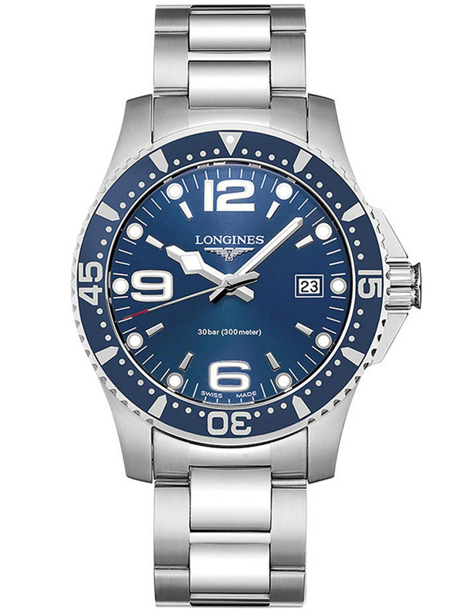 Longines HydroConquest Stainless Steel Mens Watch L37404966