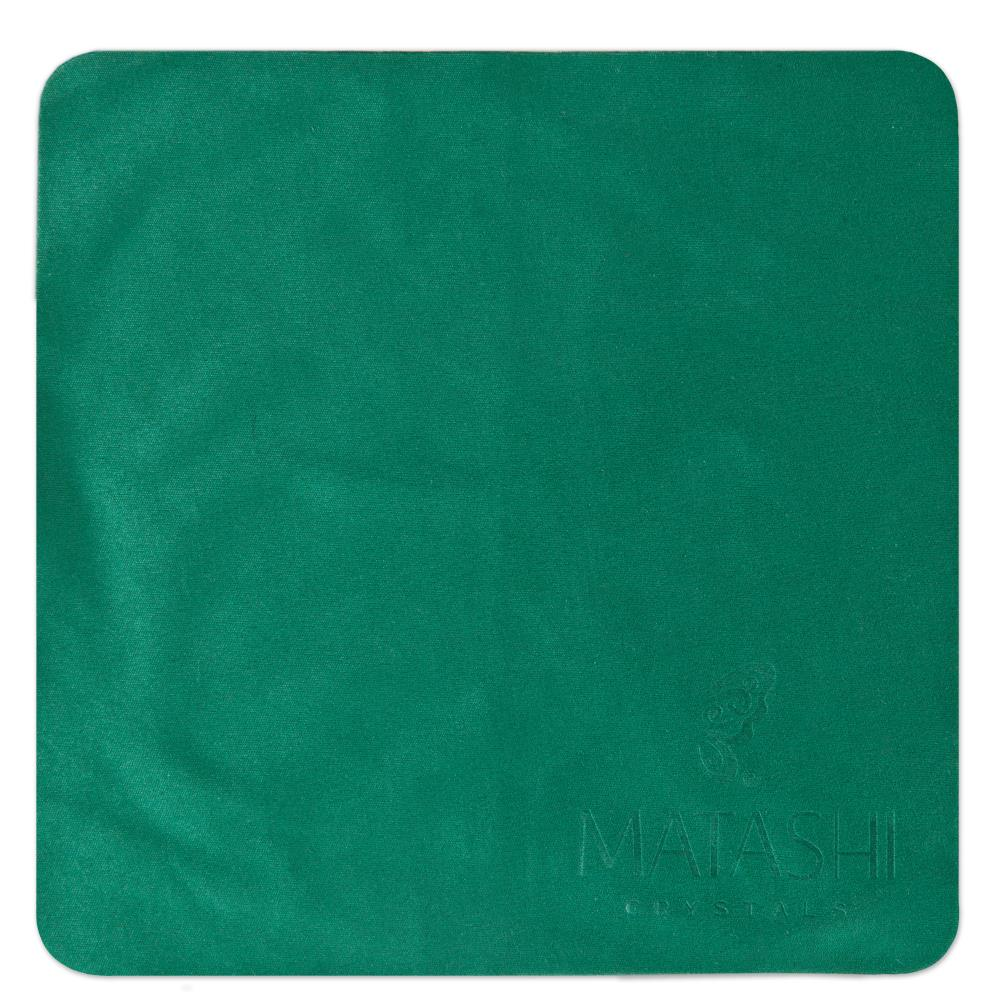 """6"""" Square Super Soft Premium Microfiber Cleaning Cloth for Glasses, Screens, Electronics, Jewelry, Delicate Surfaces and more by Matashi"""