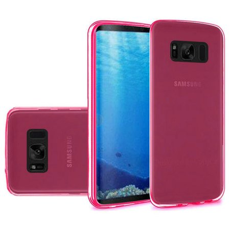 Samsung Galaxy S8 Case Cable OTG Combo Kit, Premium Transparent Flexible ShockProof TPU Soft Skin Case with 3.5mm AUX Audio Cable and Type C USB to Type A USB OTG -