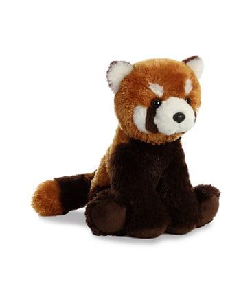 Red Panda Mini Flopsie 31386 Stuffed Animal by Aurora Plush