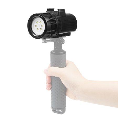 Lampe de poche sous-marine SHOOT XTGP460 Lampe de poche sous-marine torche de plongée de 1 500 lumens étanche 60m - image 3 of 7