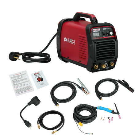 Amico TIG-225 220 Amp HF-TIG Torch/Stick/Arc Welder 115 & 230V Dual Voltage