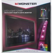 Monster Color Changing Usb Led Light Strip 6 5ft