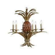 Mariana Home 980035 Pineapple 6 Light Chandelier