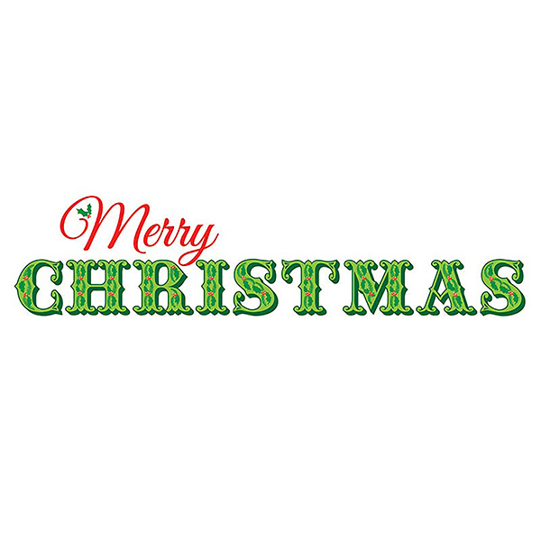 WallPops Merry Christmas Wall Quote