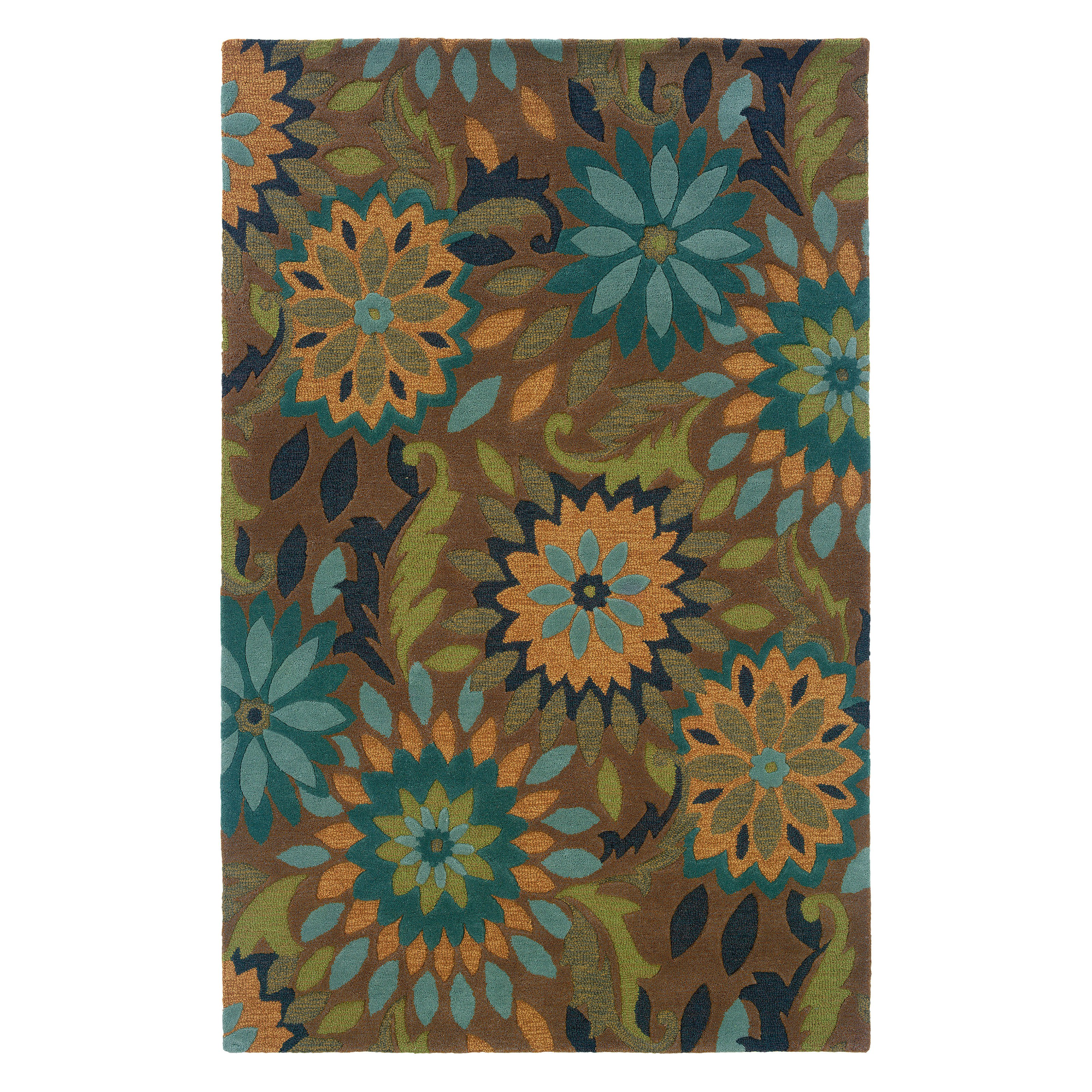 LR Resources LR03501-TA58-Dazzle Taupe Rectangle Rug 5 ft.  x 7 ft.  9 inch
