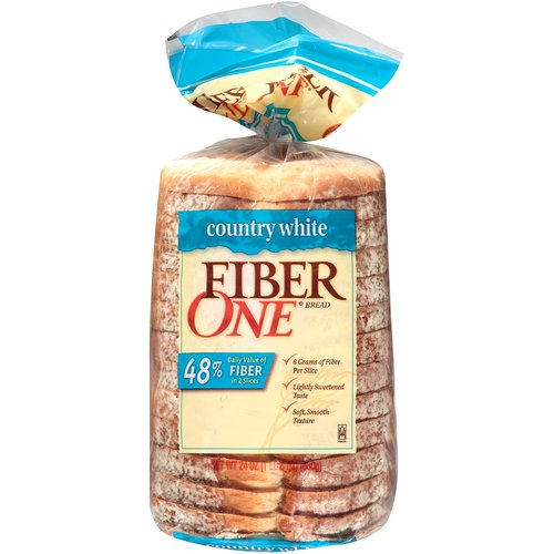 Fiber One Country White Bread, 24 oz