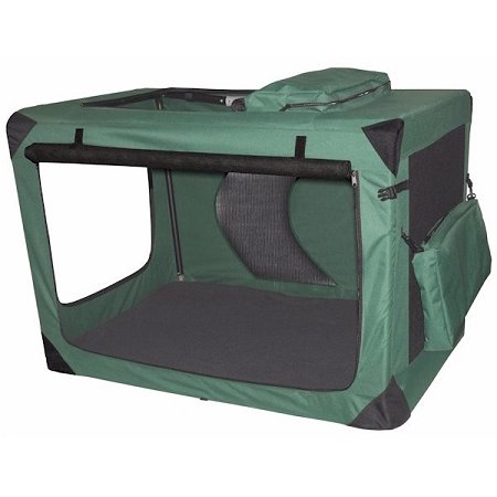 Generation ii deluxe portable soft crate extra large dog for Xl soft dog crate