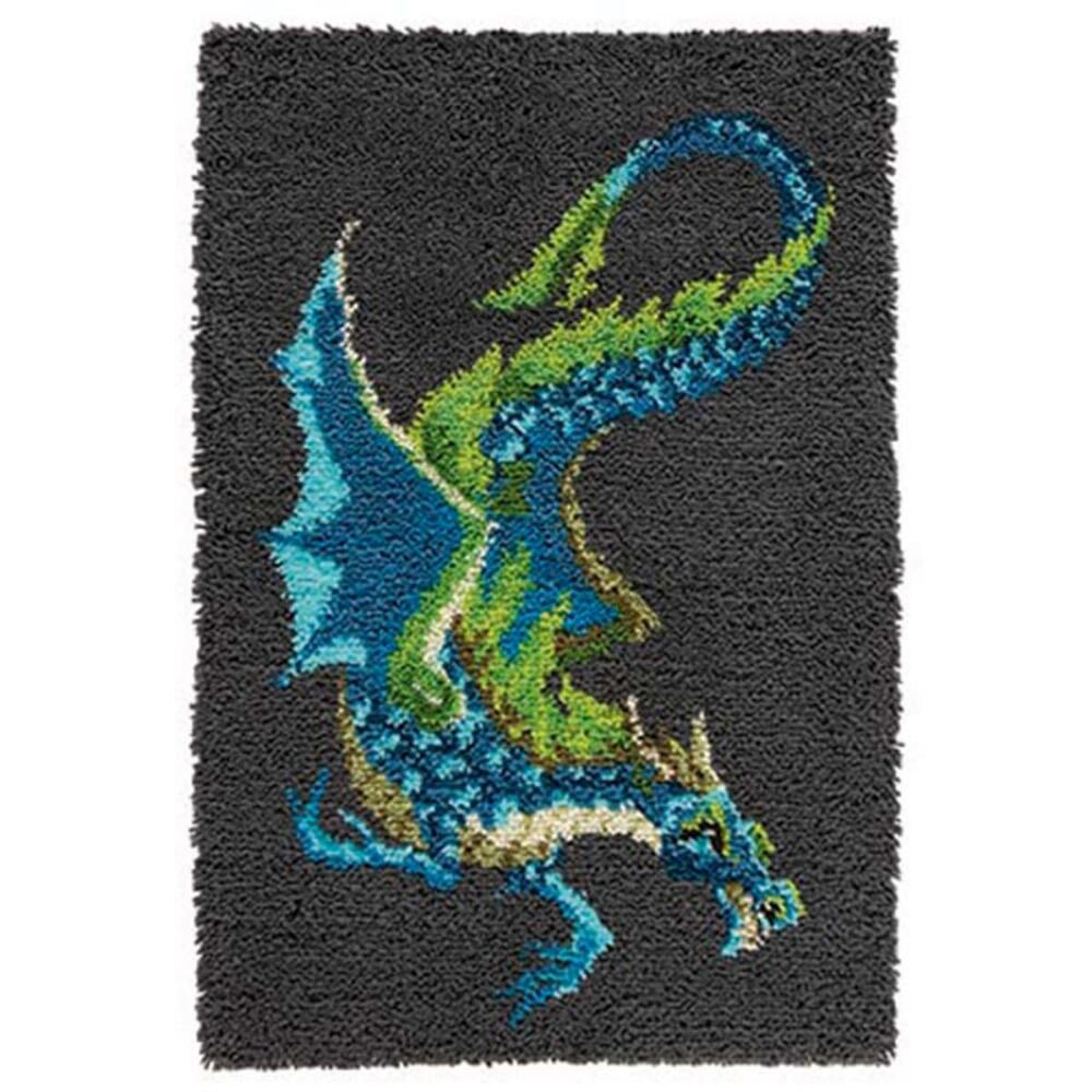 Craftways Water Dragon Latch Hook Kit