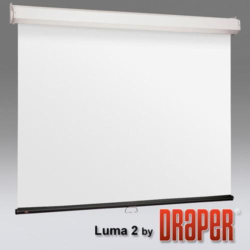 Draper Luma 2 with AutoReturn Matt White Projection Screen