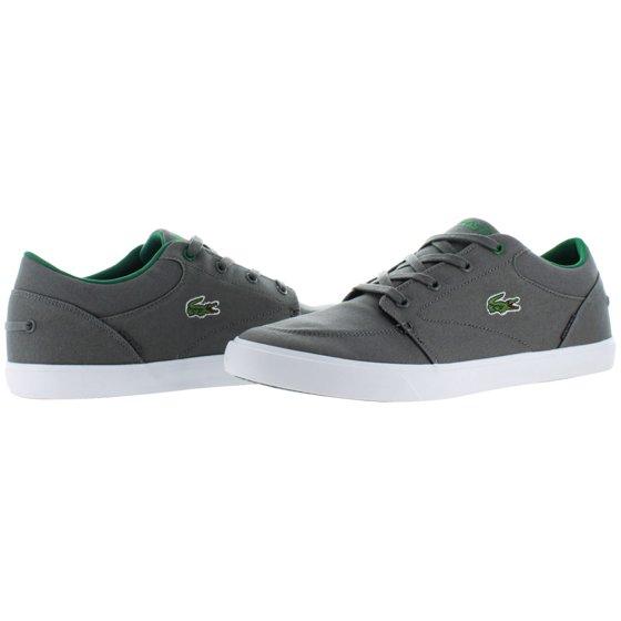 1a0b887cb Lacoste - Lacoste Men s Bayliss Vulc Dark Grey   Green Canvas ...