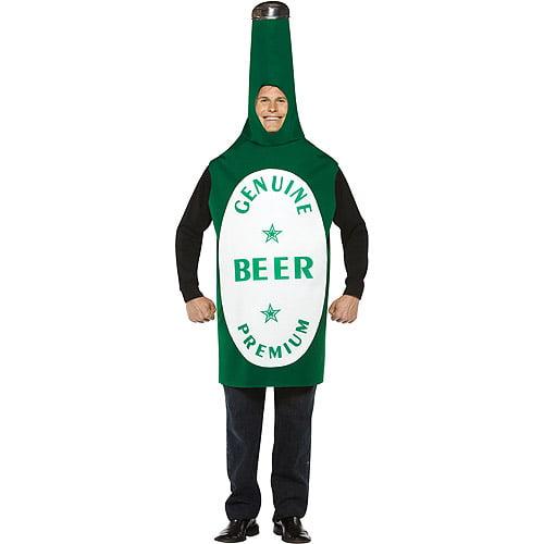 Beer Bottle Adult Halloween Costume