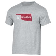 Men's Russell Heathered Gray Oklahoma Sooners Inner-State T-Shirt