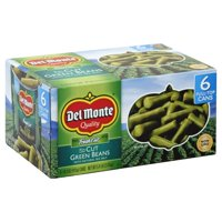 (6 Cans) Del Monte Fresh Cut Blue Lake Cut Green Beans 14.5 oz