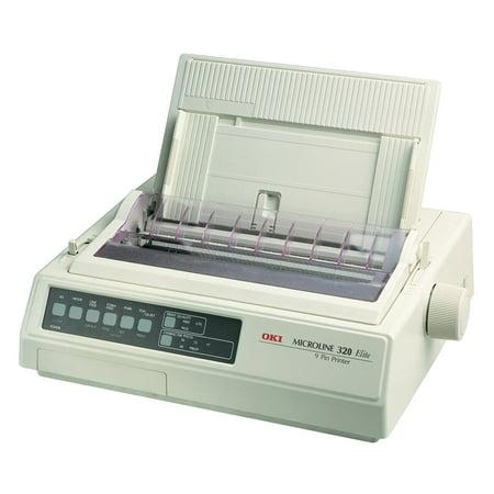 Oki Microline 321 Turbo D Dot Matrix Printer   9 Pin   435 Cps Mono   240 X 216 Dpi   Parallel  Usb