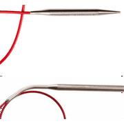 "ChiaoGoo Stainless Steel Regular Red Circular Knitting Needles, 40"" (100 cm), US 11 (8 mm)"